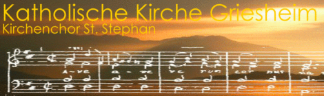 Jahresrückblick des Kirchenchores 2015