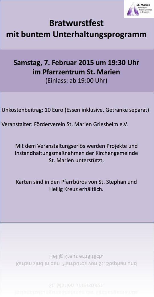 Plakat Bratwurstfest_07 02 2015