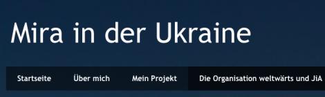 Freiwilligendienst in der Ukraine