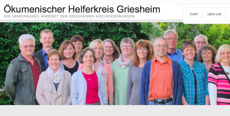 Ökumenischer Helferkreis Griesheim jetzt unter eigener Adresse erreichbar