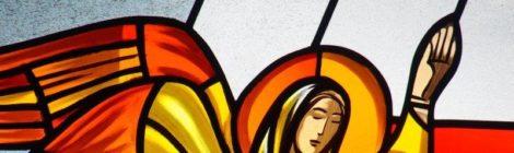Einige Bilder unserer neuen Kirchenfenster